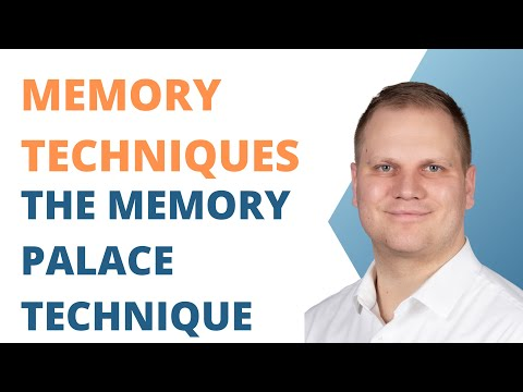 Memory Techniques: The Memory Palace System