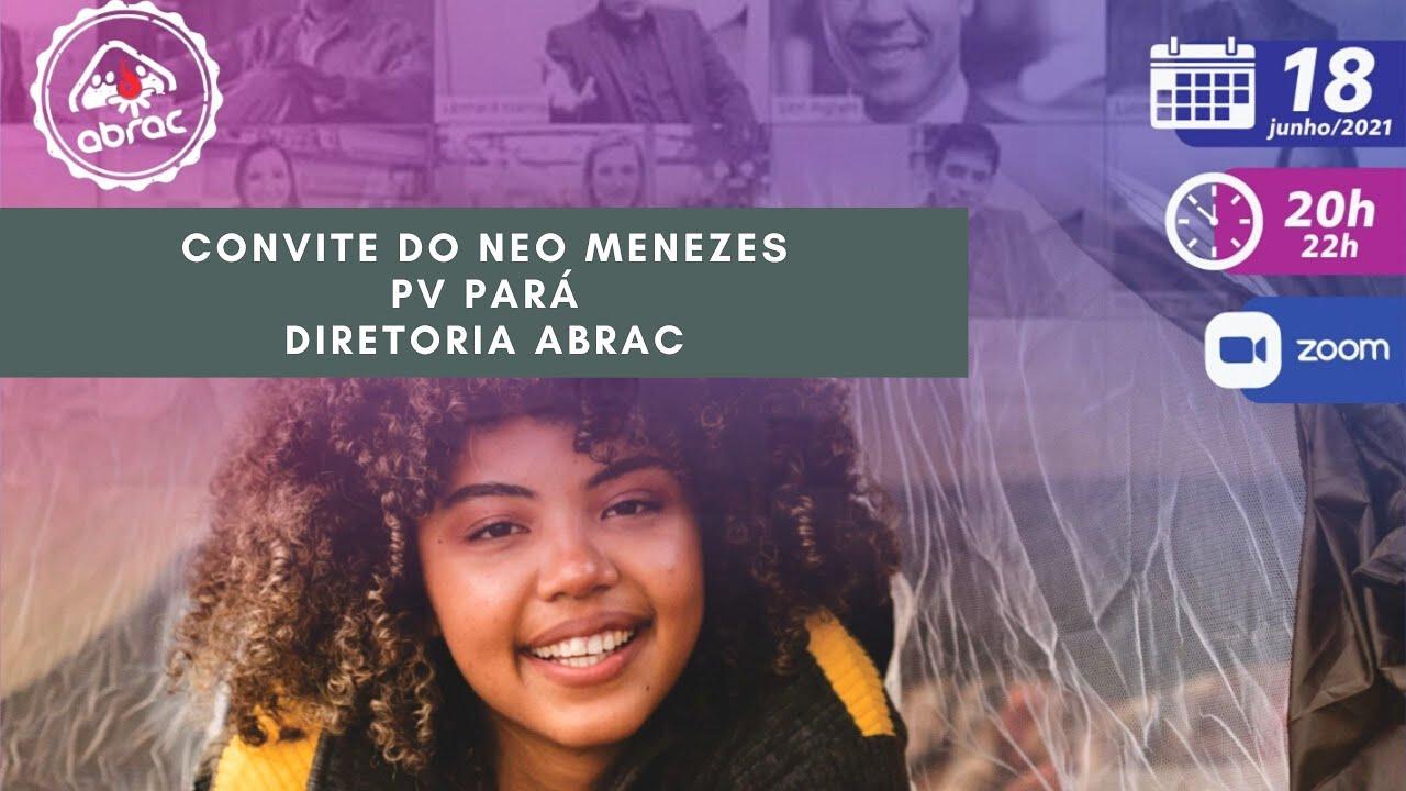 Encontrão ABRAC 2021 - Convite do Neo