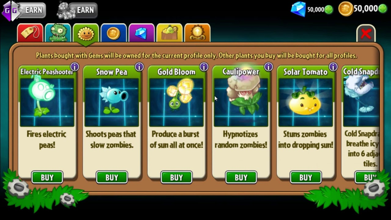 Cheat Pvz 2 Android