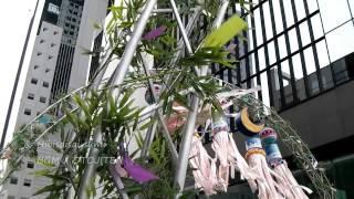 新梅田シティでは、東北三大祭りの一つ、仙台七夕の七夕飾りを見ること...