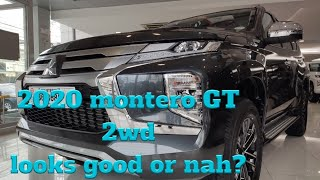 2020 Montero GT 2wd A/T | First Look