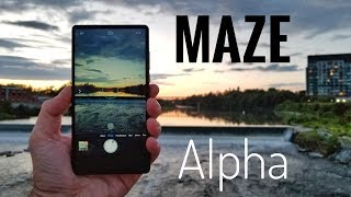 Maze Alpha Smartphone REVIEW - Bezel Less for under $190