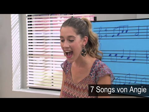 Angie singt 7 Violetta Songs
