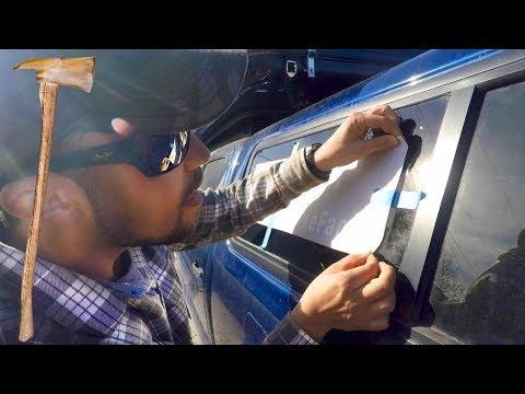 Applying Truck Decals To Your Window