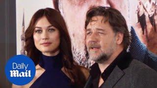 Russell Crowe & Olga Kurylenko at 'The Water Diviner' premiere - Daily Mail