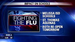 Bishop Lynch HS Reopens After Flu Outbreak