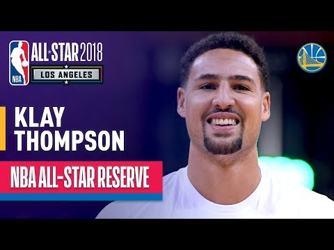 Klay Thompson All-Star Reserve | Best Highlights 2017-2018