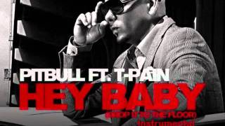 Pitbull-Hey Baby Instrumental with hook (Prod. By Sandy Vee ) + Free Download