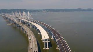 Gov. Cuomo on the making of New York's massive new bridge