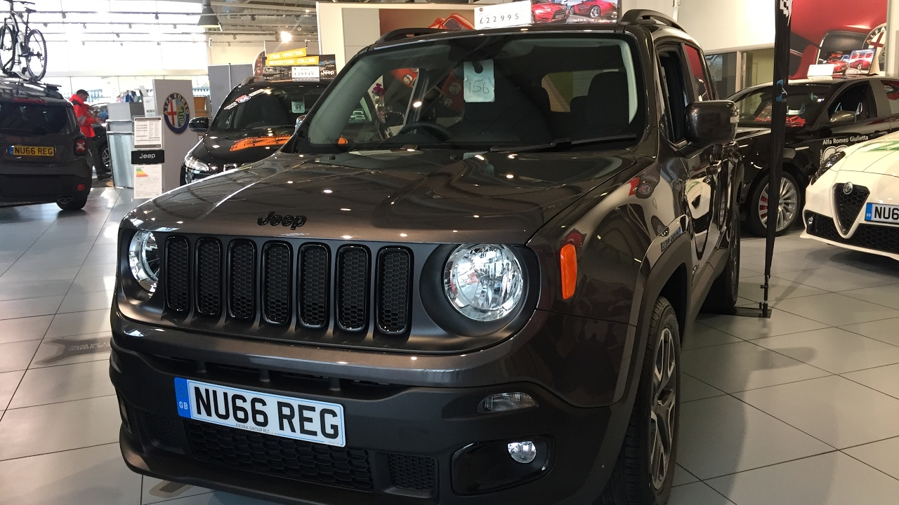 2017 jeep renegade exterior and interior review youtube. Black Bedroom Furniture Sets. Home Design Ideas