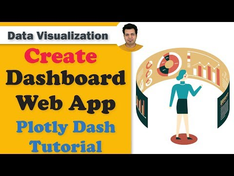 Create Dashboard Web App (Plotly Dash Tutorial)