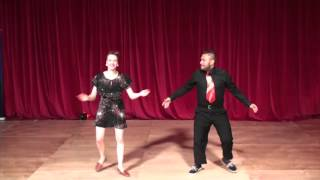 ESDC 2015 - Advanced All Swing Showcase - Finals - Mikey Pedroza & Pamela Gaizutyte