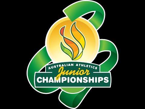 Australian Junior Athletics Championships Thursday 9 - 11am 2014