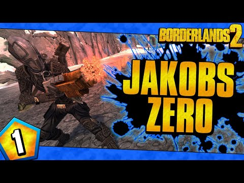 Borderlands 2 | Jakobs Allegiance Zero Funny Moments And Drops | Day #1 |