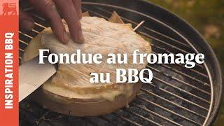Fondue au fromage au BBQ