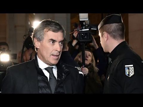 Former French budget minister Jerome Cahuzac sent to Jail for holding offshore account