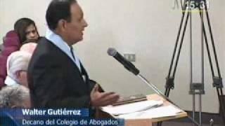 2009-08-12 Juvenal Ordonez en Reportaje en Canal N