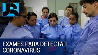 Pesquisadores Latino-americanos Aprendem A Fazer Testes Para Detectar O Coronavírus No Rj