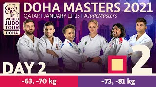 Day 2 - Tatami 2: Doha World Judo Masters 2021