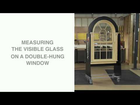 How to Measure Visible Glass - Andersen Windows