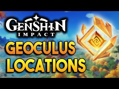 All Geoculus Locations! -【Genshin Impact】