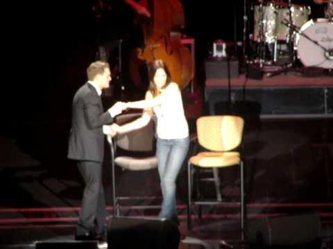 Michael Buble sings