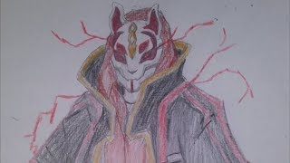 How to draw the Fortnite Drift Skin [COMPLETE]