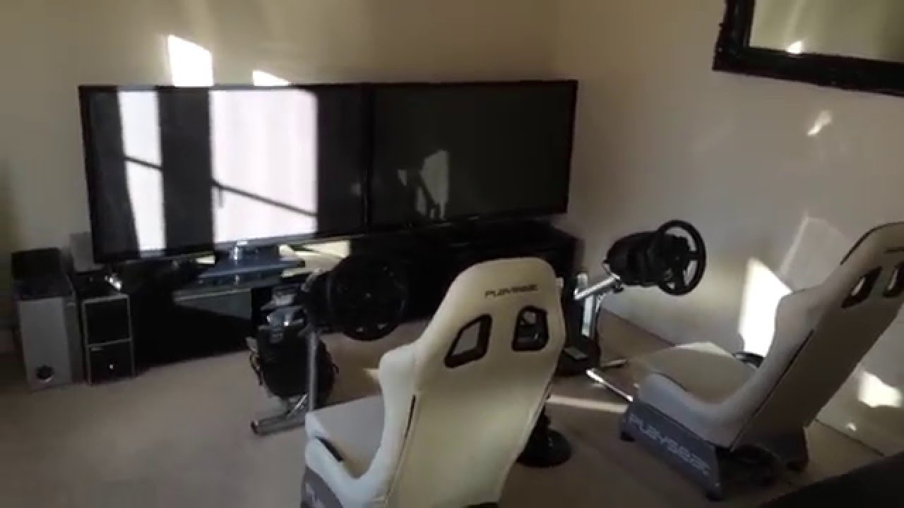 My Gaming Playseat Thrustmaster T300rs Buttkicker