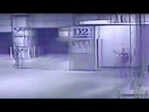 Watch video of JPSO shooting at The Times-Picayune warehouse