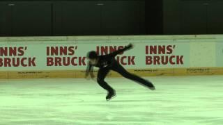 7 Keiji TANAKA (JPN) - ISU JGP Austria 2011 Junior Men Short Program.