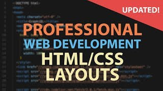 EASY! Hand-code an HTML + CSS layout