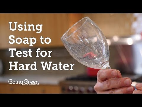 Using Soap To Test For Hard Water