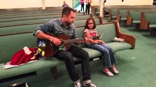 Brandon Heath singing The Harvester for Zoe