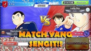SENGIT HINGGA AKHIR! - Captain Tsubasa: Dream Team (Fun Match)