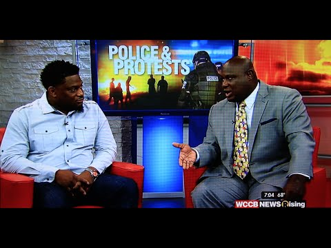 Pastor Howard WCCB Interview: Charlotte Protests