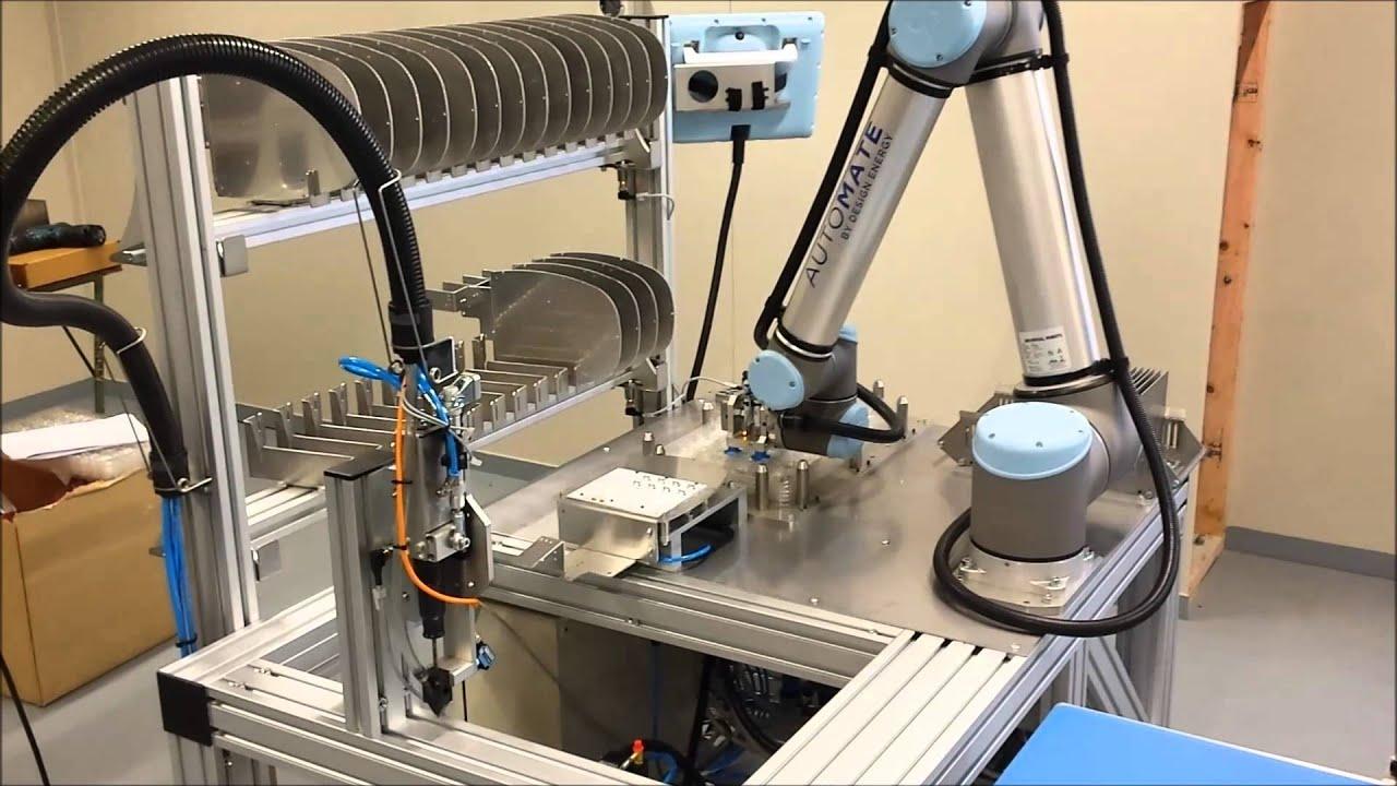Universal Robots Helps Betacom Light Up New Zealand Youtube