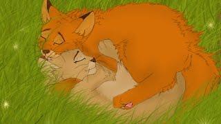 Коты воители- Песчаная Буря и Огнезвезд(Заказ с канала- Deny Fai)