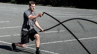 10 Battle Rope Übungen für Jeden