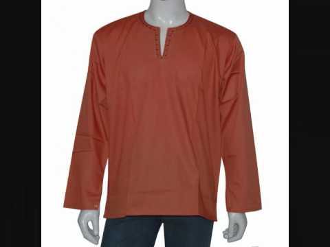kurtas indiens chemise pour hommes fabriqu e en inde. Black Bedroom Furniture Sets. Home Design Ideas