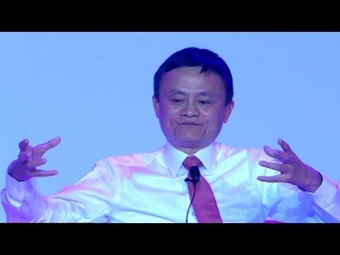 Jack Ma addresses the Inaugural SA Investment Summit Dinner