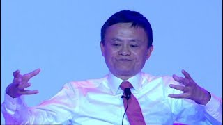 Jack Ma addresses the Inaugural SA Investment Summit Dinner