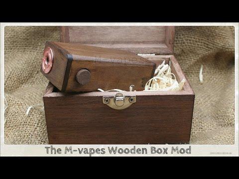 M-Vapes Wooden Box Mod