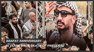 Fifteen years since mysterious death of Palestinian leader Yasser Arafat