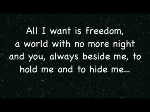 All I ask of you lyrics - Phantom of the Opera