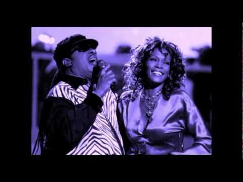 WE DIDN'T KNOW - Whitney Houston & Stevie Wonder HD