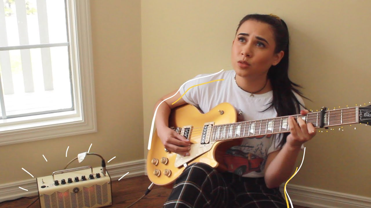 REX ORANGE COUNTY BEST FRIEND (electric guitar cover by annie green) *with  lyrics/chords