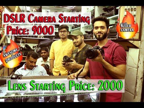 Dslr Camera Market in Chandni Chowk Delhi 2018 | Old Dslr Market In Delhi