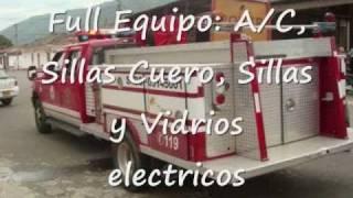 2000 MINI PUMPER ATAQUE RAPIDO 4X4 F350 DIESEL - Venta a Latinamerica