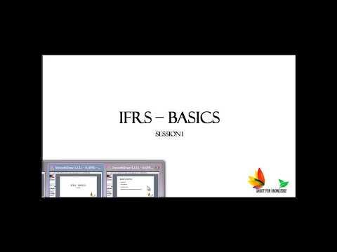 IFRS Basics  Part_1