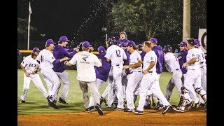 ECU Baseball Walkoff Bunt